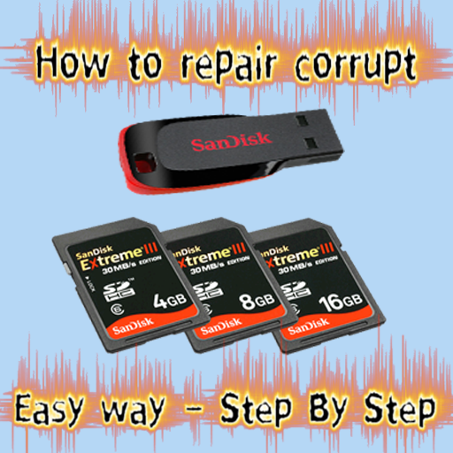 How to repair corrupt memory card and pen drive 2018