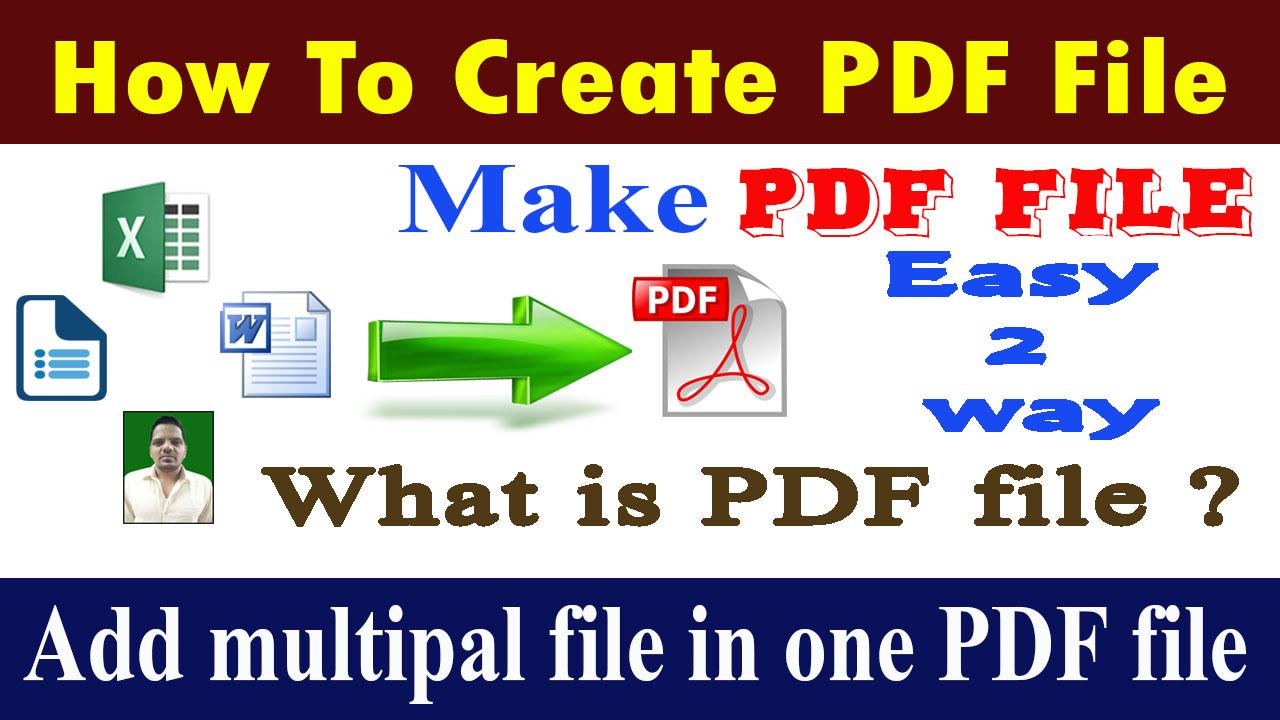 4 ways to create pdf files wikihow.