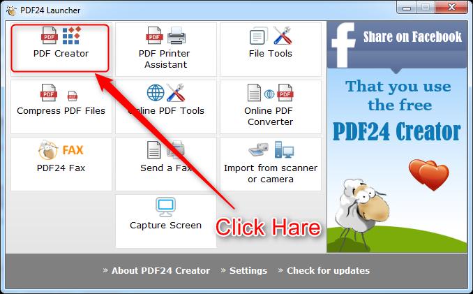 How to create PDF file, create PDF file offline, PDF creator