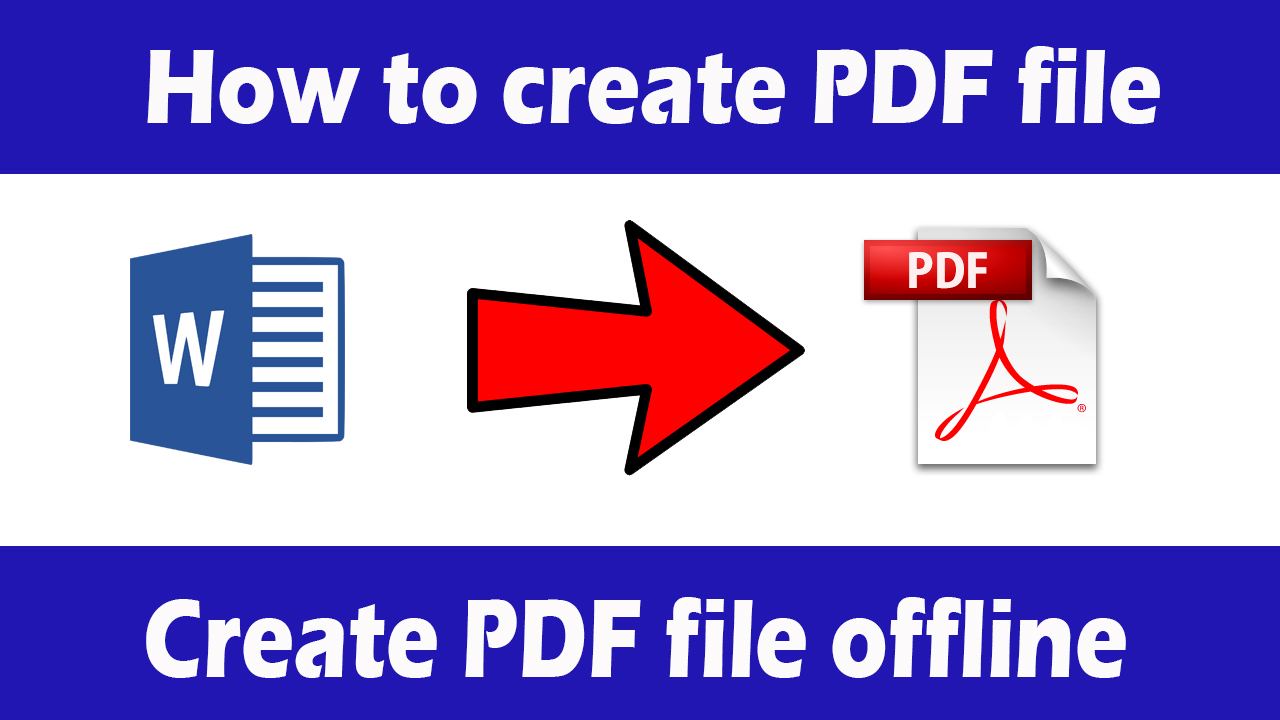 Pdf file creator software free download for pc 2019 technewinfo.