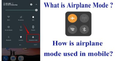 What is Airplane or Flight mode? How do you use it?