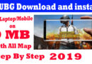 Free download and install pubg mobile for Pc/Laptop/Mobile in 0 MB 2019