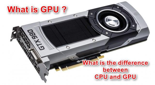 What is the GPU? How does the GPU work?