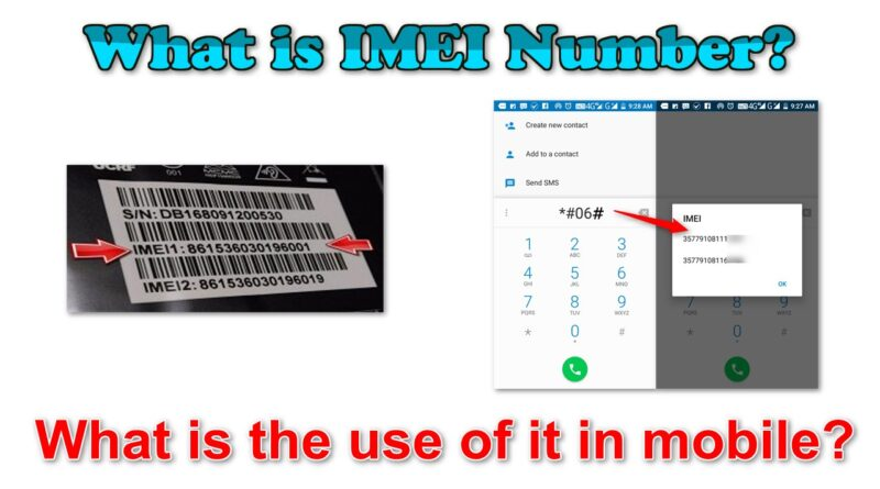 What is IMEI number? What is the use of it in mobile?