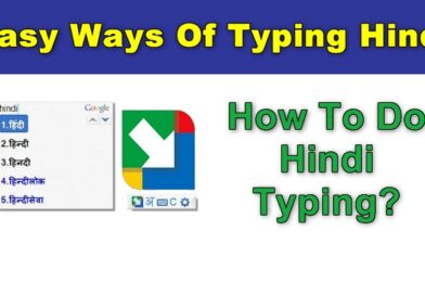 Hindi Typing – How to type in Hindi on computer?