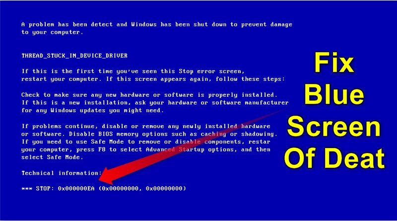 what is blue screen error